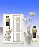 120ml Spray de vidrio de la sala de SPA Aroma Difusor de aceite de madera