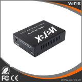 1X 100Base-FX al convertitore di media della fibra di 8X 10/100Base-T 1550nm 100km