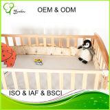 Baby-Krippe-Deckel-wasserdichter Deckel-Urin-Beweis-geben Bambusfaser-Oberseite-Vinyl frei