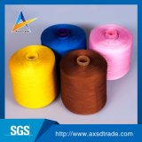 China Textured 100% hilados del estiramiento del poliester del hilo para obras de punto altos para los calcetines
