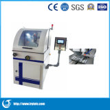 Machine de découpe de l'échantillon métallographique/équipement de laboratoire