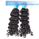 Бразильские глубокие волосы девственницы волны 100% людские, бразильские волосы (KBL-BH)