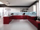Moderne Art-europäische weiße angestrichene Küche-Schränke