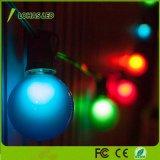 Farbiges LED Birnen-Licht der Weihnachtsbaum-Dekoration-Beleuchtung-1W E27 G45 für Innenim Freien
