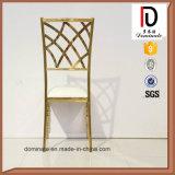 Gold-Plated нержавеющая сталь картины обедающ стул