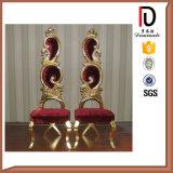 Le Roi antique d'or Throne Chair à vendre Br-K100