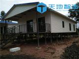 タイのプレハブの鉄骨フレームの家