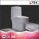 Toletta di ceramica di un pezzo della stanza da bagno di ciclone della fabbrica di Chaozhou