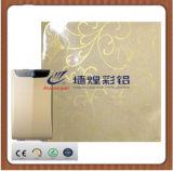 Panel de delante revestido del filtro de aire de la hoja de acero de la flor de calidad superior
