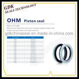 Fabricación PA+NBR Ohmios el sello del émbolo
