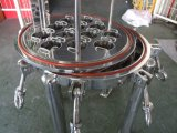 Custodia di filtro dell'acqua della cartuccia dell'acciaio inossidabile 5 del commestibile