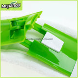 Lavette de Microfiber avec la plaquette de déverrouillage rapide facile de permuter la tête de lavette