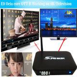 E9 Doos de van uitstekende kwaliteit van TV van Amlogic S912 2.4G 5.8g WiFi