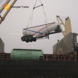 3 assi asciugano il rimorchio all'ingrosso dell'autocisterna del cemento di Bulker del silo