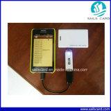 2015 cartes sans contact sèches de l'IDENTIFICATION RF en plastique neuve IC