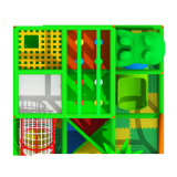 de kleurrijke Speelplaatsen van de Kinderen van de Apparatuur van de Speelplaats Binnen Zachte voor Spelen