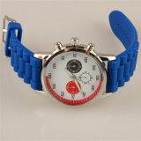Вахта пар Wristband способа высокого качества вахты планки кремния случая сплава