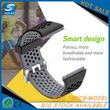 per il cinturino di vigilanza ionico, cinturino di vigilanza variabile di migliore di qualità sport del silicone