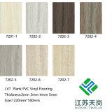 돌 패턴 방수 새로운 디자인 호화스러운 비닐 판자 Lvt 마루 Hj7201-1
