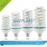 U 모양 LED 옥수수 빛 E27 9W 2835 SMD 빛