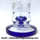 Tubo di fumo di vetro dell'acqua con la caffettiera a filtro Waterpipe del polipo