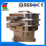 Redondo de aço inoxidável equipamento peneira vibratória Circular Rotativo