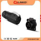 Серия LP M16 диаметр отверстия для установки 3 контактный разъем и разъемы IP67 3 провода Водонепроницаемый кабель к системной плате для установки на панели управления