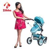 Passeggiatore del bambino con il blocco per grafici di Alu del rivestimento potere/di anodizzazione, rotella di EVA