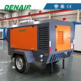 Militärindustrie verwendeter dieselbetriebener mobiler beweglicher Drehschrauben-Luftverdichter