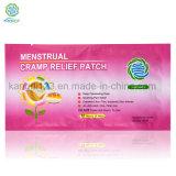 Proveedor de China el alivio del dolor menstrual parche Menstrual/ almohadilla de calor en la venta caliente