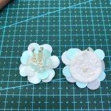 Accessorio 010 dell'indumento del fiore del Sequin