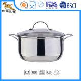 Cozinha de Aço Inoxidável Non-Stick OEM do conjunto do potenciômetro (CX-ST08)