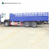 Sinotruk HOWO 6X4のサイドウォールの塀のDropside 10の荷車引きの貨物トラック