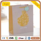 Bolsas de papel revestidas del regalo del arte del día de fiesta del conejo de Pascua