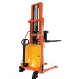Precio semi eléctrico semi eléctrico del apilador de la paleta del levantador de la fork del levantador de la paleta