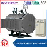 Chaudière à vapeur électrique horizontale d'eau chaude et de qualité