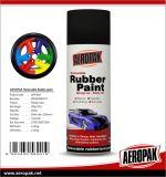Borracha Aeropak líquido laca de pintura por spray