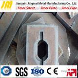 El cortar/laser que corta el corte laminado en caliente de la aduana de la placa de acero