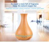 Difusor ultrasónico aromatherapy del aroma del petróleo esencial del grano de madera de la producción de la fábrica