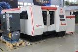 Machine de coupe au laser à fibre coupe libre de contact, perçage de la tôle métallique.