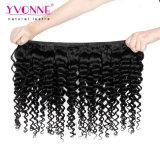 Yvonne-heißes Verkäufe Remy Haar-tiefe Wellen-Menschenhaar-Webart