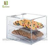 Tribune van de Cake van de Modieuze 2 Rij van de goede Kwaliteit de Acryl Vierkante