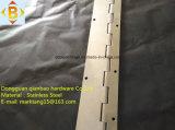 Dobradiça contínua longa do piano da dobradiça SS304