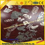 Productos de aluminio anodizados modificados para requisitos particulares de la protuberancia del oro con el CNC del aluminio