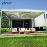 Schöner motorisierter Metallfarbton deckt Pergola mit Luftschlitz-Dach ab