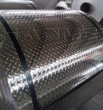 piatto checkered di alluminio luminoso