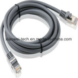 Rete via cavo esterna di Ethernet del gatto 6 Cat5e arrotolata