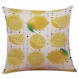 Cubierta nórdica de la almohadilla de tiro de la impresión de la fruta de la venta caliente
