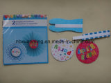 Decoración de fiesta colgante de papel regalo