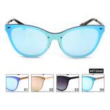 Óculos de sol conservados em estoque prontos fêmeas da forma UV400 nenhum MOQ (HFF0045)